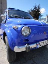 Fiat 500 - piękne klasyki - fot. Adrian Banach