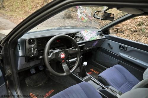 Toyota Corolla AE86, fot. Adrian Banach